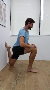 Front of Thigh Stretch